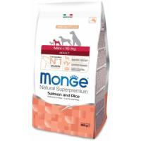 Фотография товара Корм для собак Monge Dog Speciality, 800 г, лосось, рис