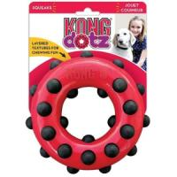 Фотография товара Игрушка для собак Kong Dotz, 300 г, размер 15см.