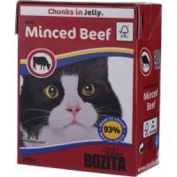 Фотография товара Корм для кошек Bozita Minced Beef, 370 г, рубленая говядина
