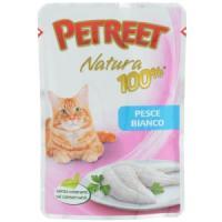 Фотография товара Корм для кошек Petreet Natura, 85 г, белая рыба