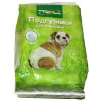 Фотография товара Подгузники для собак Triol DP19 XXL, 10 шт.