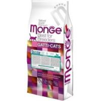 Фотография товара Корм для кошек Monge Cat Hairball, 10 кг, курица