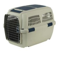 Фотография товара Переноска для собак Marchioro Clipper Tortuga, размер 5, 6.15 кг, размер 80х57х60см., бежево-синий