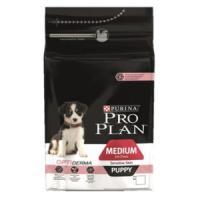Фотография товара Корм для щенков Pro Plan Puppy Medium Sensitive, 1.5 кг, лосось с рисом