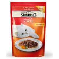 Фотография товара Корм для кошек Gourmet Mon Petit, 50 г, говядина