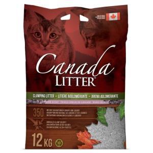Наполнитель для кошачьего туалета Canada Litter Запах на замке (Лаванда), 12 кг