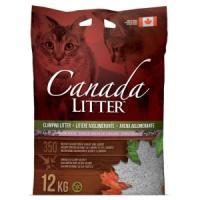 Фотография товара Наполнитель для кошачьего туалета Canada Litter Запах на замке (Лаванда), 12 кг