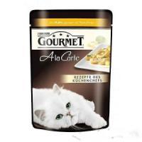 Фотография товара Влажный корм для кошек Gourmet A la Carte, 85 г, Курица с Пастой и Шпинатом
