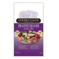 Фотография товара Корм для собак Golden Eagle Holistic Lamb & Rice 22/15, 12 кг, ягненок