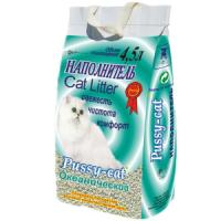 Фотография товара Наполнитель для кошачьего туалета Пусси-кет, 2.5 кг