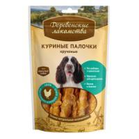 Фотография товара Лакомство для собак Деревенские лакомства, 90 г, курица