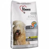Фотография товара Корм для собак 1st Choice Hypoallergenic, 2.72 кг, утка и картофель
