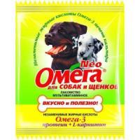 Фотография товара Витамины для собак и щенков Омега
