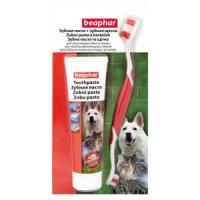 Фотография товара Зубная паста + щетка для собак и кошек Beaphar Toothpaste, 200 г