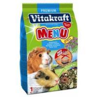 Фотография товара Корм для морских свинок Vitakraft Menu Vital, 1 кг, злаки, семена, фрукты