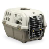 Фотография товара Переноска для собак, кошек и грызунов MPS Skudo Prestige 1, размер 1, 430 г, размер 48х31.5х31см., коричневый