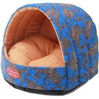 Фотография товара Домик для собак и кошек Родные Места Огурцы, размер 44х44х36см., синий