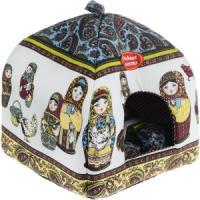 Фотография товара Домик для собак и кошек Родные Места Матрешки, размер 39х39х48см.