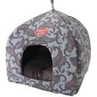 Фотография товара Домик для собак и кошек Родные Места Огурцы, размер 42х42х50см., серый