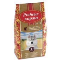 Фотография товара Корм для собак Родные корма 25/13, 16.38 кг, курица