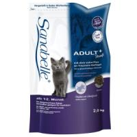 Фотография товара Корм для кошек Sanabelle Adult with tasty ostrich, 2 кг, страус