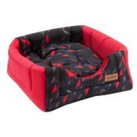Фотография товара Домик-трансформер для собак и кошек Katsu Hopi, размер 40х40х35см., красный