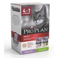 Фотография товара Корм для кошек Pro Plan Adult, 425 г, индейка_ягненок
