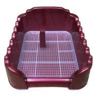 Фотография товара Лоток для собак Homepet, размер 55х40см., красный
