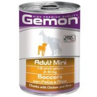 Фотография товара Корм для собак Gemon Dog Mini, 400 г, курица с рисом