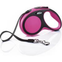 Фотография товара Поводок-рулетка для собак Flexi New Comfort S Tape, розовый