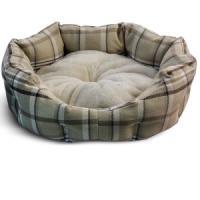 Фотография товара Лежанка для собак Triol Клетка S, размер 45х40х16см., бежевый
