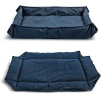 Фотография товара Лежанка для собак Triol Комфорт M, размер 78х61см., синий