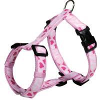 Фотография товара Шлейка для собак Trixie Rose Heart S, розовый