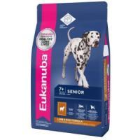 Фотография товара Корм для собак Eukanuba Mature & Senior All Breeds, 12 кг, ягненок с рисом