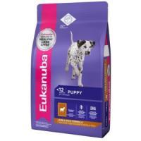 Фотография товара Корм для щенков Eukanuba Puppy Lamb and Rice, 12 кг, ягненок с рисом