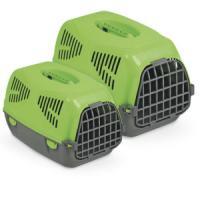 Фотография товара Переноска для собак и кошек MPS Sirio Little, размер 50х33.5х31см., зелёный