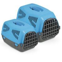 Фотография товара Переноска для собак и кошек MPS Sirio Big, размер 64х39х39см., голубой