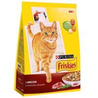 Фотография товара Корм для кошек Friskies Adult, 2 кг, мясо с курицей и овощами