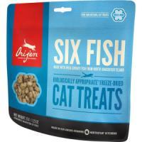 Фотография товара Лакомство для кошек Orijen FD Six fish Cat, 35 г, рыба