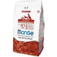 Фотография товара Корм для щенков Monge Dog Puppy and Junior, 800 г, ягненок с рисом