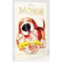 Фотография товара Лакомство для собак Molina, 80 г