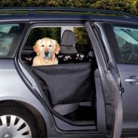 Фотография товара Подстилка для собак Trixie, размер 65х145см., черный/бежевый