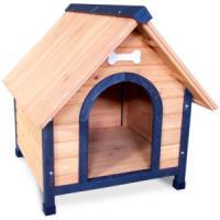 Фотография товара Деревянная будка для собак Triol, размер 2, размер 76x88x81см.