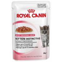 Фотография товара Корм для котят Royal Canin Kitten Instinctive Jelly, 85 г