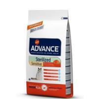 Фотография товара Корм для кошек Advance Sterilized Sensitive, 1.5 кг, лосось с рисом