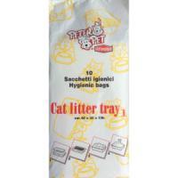 Фотография товара Пакеты для кошачьих туалетов Stefanplast Peter Pet, размер 40x30x10см.