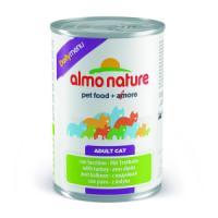 Фотография товара Консервы для кошек Almo Nature Dailymenu BIO, 400 г, индейка