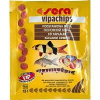 Фотография товара Корм для донных рыб и ракообразных Sera Vipachips, 15 г