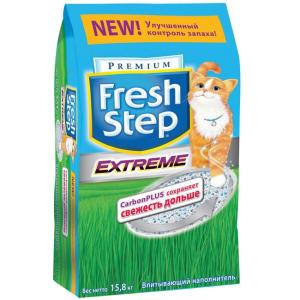 Наполнитель для кошачьего туалета Fresh Step Premium, 15.8 кг
