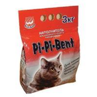 Фотография товара Наполнитель для кошачьего туалета Pi-Pi Bent Classic, 3 кг